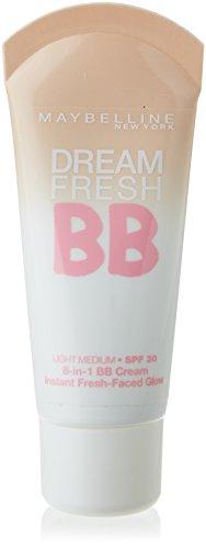 Maybelline Dream Fresh 8-In-1, Bb Cream, Tono Medio, 30 ml [Versione inglese]
