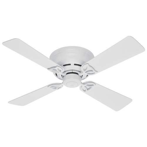 Hunter 23866 42-Inch White Lowprofile II FanB0000DAQSP
