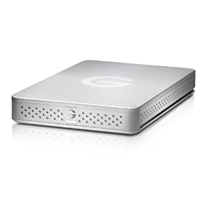 G-Technology G-DRIVE ev USB 3.0 Hard Drive 500GB (0G02727)