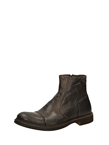CAFè NOIR SE102 taupe scarpe uomo stivaletti zip eleaganti sportivi