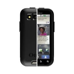 OtterBox™ Commuter™ Series Case Cover For Motorola DEFY / DEFY Plus - Black