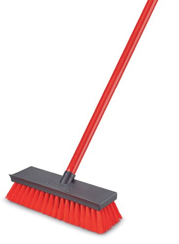 Libman CO 547 Floor Deck Scrub Brush and Handle (071736005478)