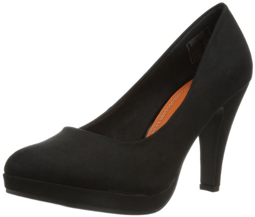 Jane Klain Womens 224 708 Plateau Black Schwarz (black 5) Size: 41