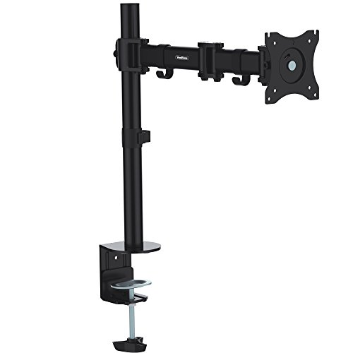 VonHaus Single Arm Monitor Desk Mount Bracket Stand for LCD LED 13