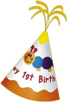 Baby Einstein 1st Birthday Felt Party Hat - 1