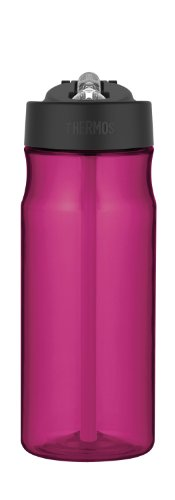 Thermos Intak 18-Ounce Hydration Bottle, Pink front-870321