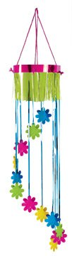 Showers Of Flowers Shimmering Spiral Party Accessory (1 count) (1/Pkg)
