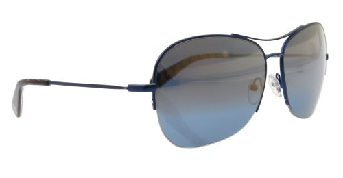 Tory Burch Tory Burch TY6020 Sunglasses - 122/33 Navy Blue (Mirror Gold Lens) - 62mm