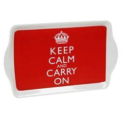 Keep Calm And Carry On Tray- Jubilee, Memorabilia, Gift