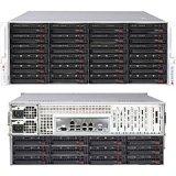 Supermicro SuperServer 6047R-E1R36N Barebone System - 4U Rack-mountable - Intel C602 Chipset - Socket R LGA-2011 - 2 x Processo