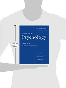 Handbook of Psychology, Clinical Psychology (Volume 8)
