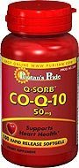 Puritan's Pride Q-sorb Co Q-10 50 Mg 100 Softgels 1 Bottle
