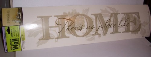 "Main Street Creations Wall Sticker - ""There's no place like HOME"""