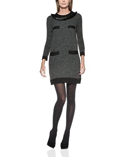 Love Moschino Kleid grau/schwarz