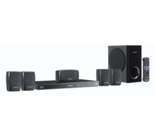Panasonic SC-BTT270EBK 3D 5.1 Blu-ray Home Cinema with iPod/iPhone Dock