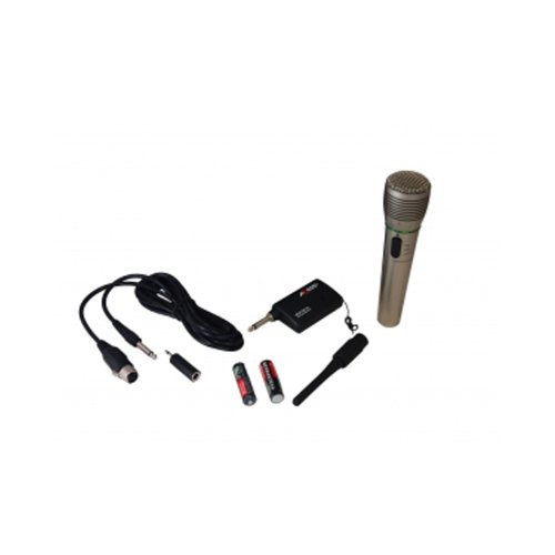 Mpwl1501-Sl Professional Stage Wireless/Wired Microphone With Adapter