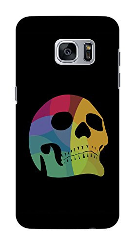 Koveru Back Cover Case for Samsung Galaxy S7 - Colored Skull