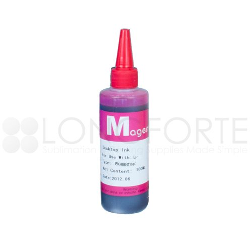 Pigment Ink Refill Bottle Magenta Epson Compatible 100ml