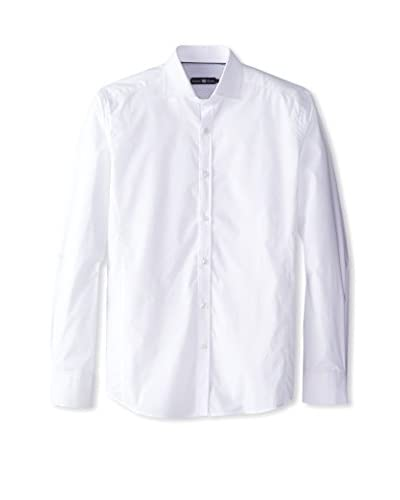Stone Rose Men's Solid Button-Up