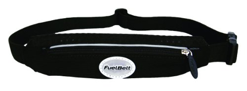 FuelBelt Fuelbelt Super Stretch Waistpack (Black, One Size)