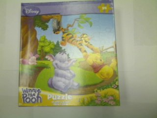 Cheap Fun Disney Winnie the Pooh 24-Piece Jigsaw Puzzle (On the Swing) (B0039KIAVO)