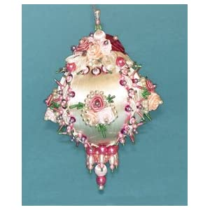 Victorian Christmas Ornament : Beading Patterns and kits by Dragon