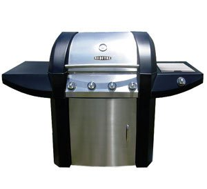 Redfyre 25 GAS BARBECUE - Stainless Steel BBQ Outdoor Cooker. 4 Main Burners +1 Side Burner