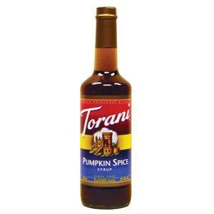 Torani Pumpkin Spice Syrup 750Ml
