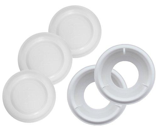MAM 99985061 - Set di accessori per biberon anticolica (valvole + fondo)