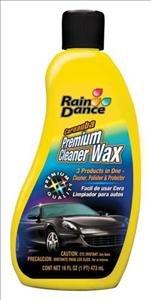 Raindance Premium Cleaner Wax, 16 fl. oz., 473 ml (02550)