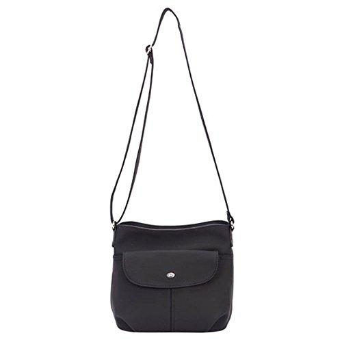 Borsa A Tracolla Womens Meribel David Jones One Size Nero