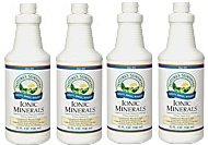 Nature'S Sunshine Ionic Minerals W/Acai Dietary Supplement Supports Circulatory System 32 Fl Oz Each(Pack Of 4)