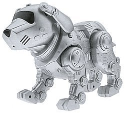 TEKNO the Robotic Puppy - Flea Scratching Tekno