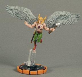 HeroClix: Hawkman # 60 (Veteran) - DC Origins