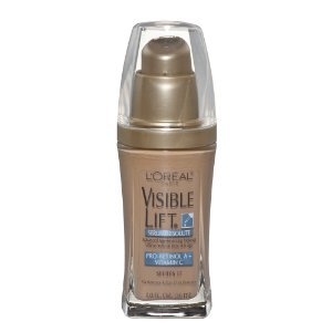 L'Oreal Paris Visible Lift Serum Absolute Advanced Age-Reversing Makeup, SPF 17, Natural Beige, 1-Fluid Ounce