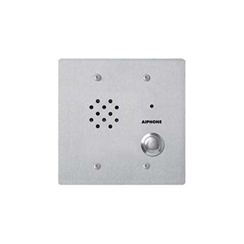 """Aiphone Corporation Le-Ssv Door Station For Lef, Lem, Ap-M, Or Mp-S, Lem Series, Stainless Steel, 4-3/4"""" X 4-3/4"""" X 2"""""""