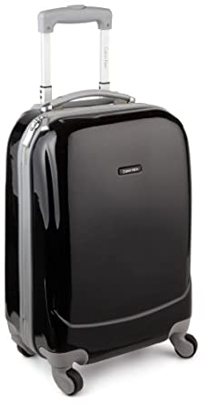 Calvin Klein Luggage Avalon 21 Inch Upright Wheeled Bag, Noir, One Size