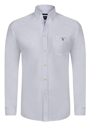 Tommy Hilfiger -  Camicia Casual  - Basic - Uomo bianco L