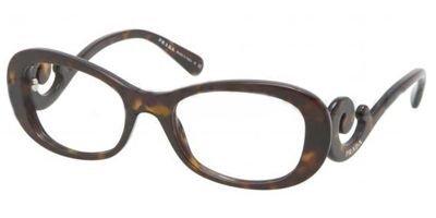 pradaPrada PR09PV Eyeglasses-2AU/1O1 Havana-54mm
