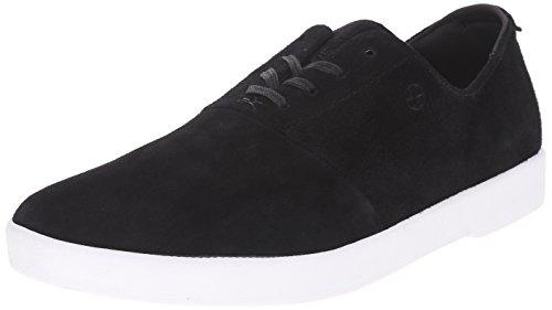 HUF Men's Gillette Modern Skateboarding Shoe, Black, 8.5 M US