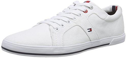 Tommy Hilfiger SM H2285ARRY 9, Herren Sneakers, Weiß (WHITE_100), 42 EU