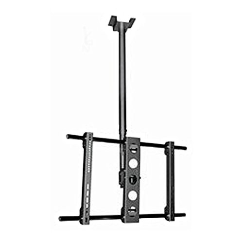 Black Height Adjustable Full-Motion Tilt/Swivel Celing TV Bracket for Haier LE50H32800 50