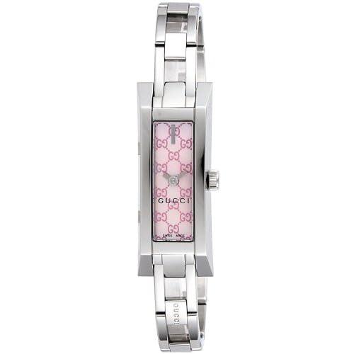 [グッチ]GUCCI 腕時計 G-LINK ピンクパール文字盤 YA110524 レディース 【並行輸入品】