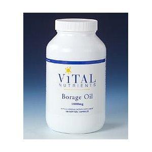 Vital Nutrients - Borage Oil 1000 mg 180 caps