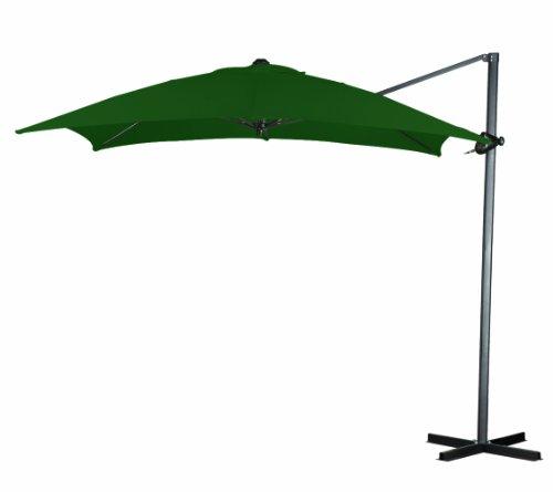 California Umbrella 8-Feet Polyester Square Cantilever