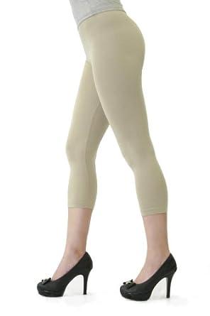 D&K Leggings (Capri Regular) Khaki
