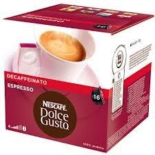 Get Nescafe Dolce Gusto Espresso Decaffeinato by Nescafe Dolce Gusto