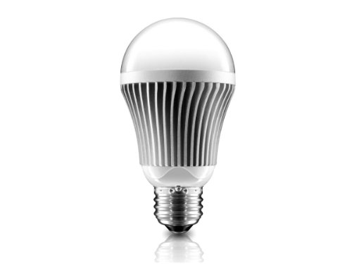 Aluratek ALB10W 10W A19 Warm Dimmable Led Bulb, 75W Incandescent Bulb Replacement (White)