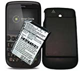 Cameron Sino Extended High Capacity 2800mAh Battery for HTC SNAP + Black Back Cover