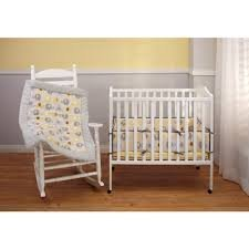 Little Bedding By Nojo 4 Piece Secure-me Porta-crib Bumper; Elephant Time Yellow - 1